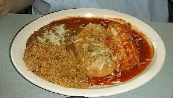 Chile Rellenos With Tomato Sauce