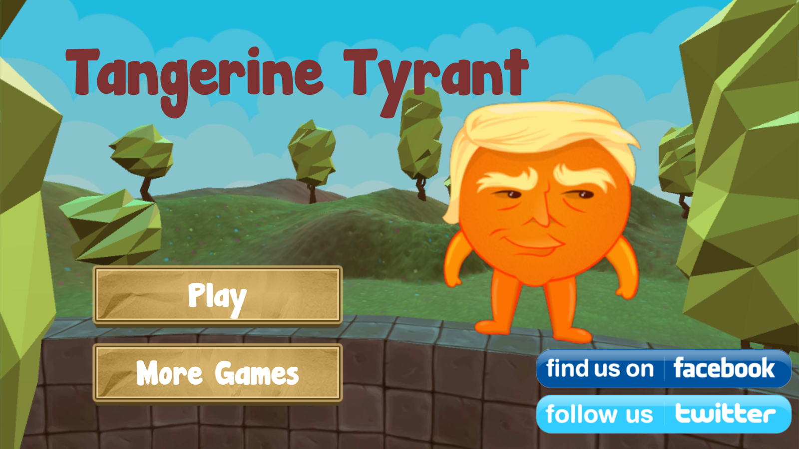 Trump the Tangerine Tyrant- screenshot