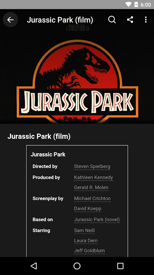 Wikia: Jurassic Park – Screenshot