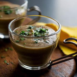 Puréed Mushroom Soup