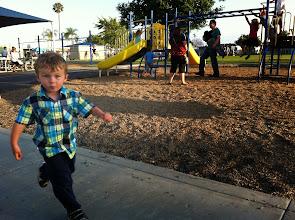 Photo: Finn Running Laps