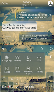 TouchPal Ferris Wheel Keyboard screenshot 3