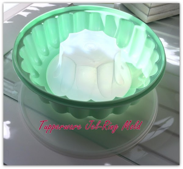 Get out your Jel-Ring Mold that you typically have used for making jello. This...