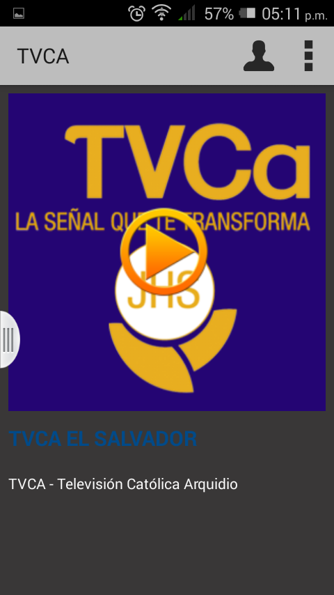 TVCA - El Salvador- screenshot