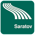 Saratov Map offline icon