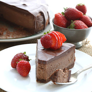 Low Carb Keto Chocolate Cheesecake