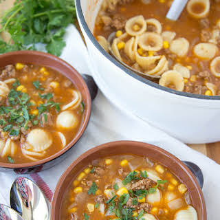 Ground Beef Pasta Soup Recipes.