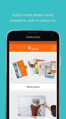 albelli photo books & gifts - screenshot