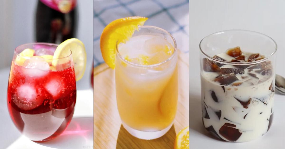 10個簡單の自製飲料