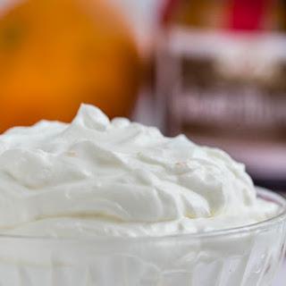 Yogurt Whipped Cream.