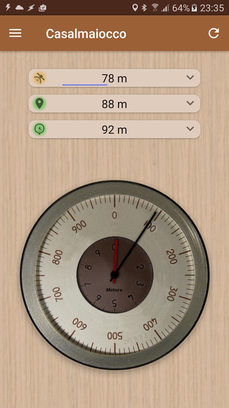Accurate Altimeter PRO Screenshot