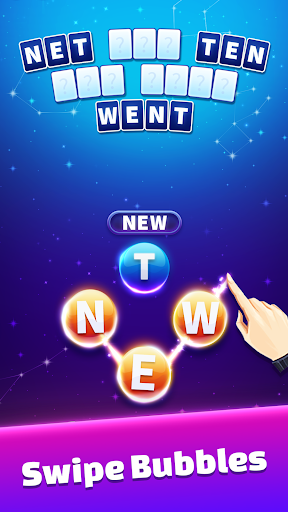 Word Stars - Letter Connect & Puzzle Bubble Game - screenshot
