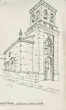 Photo: Etapa 13. Iglesia de la Inmaculada. Hontanas