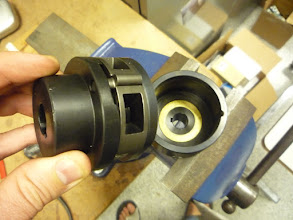 Photo: What the slip clutch looks like inside.
