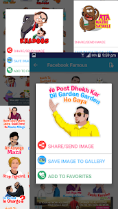 Desi Stickers for Messengers 3