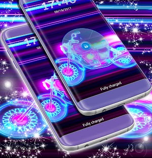 Uzamknout obrazovku Ultra Neon - náhled