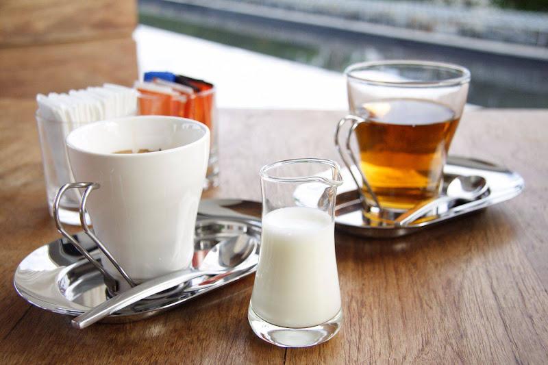 Koffie en theebuffet