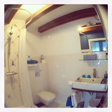 Photo: bathroom with a fish eye view