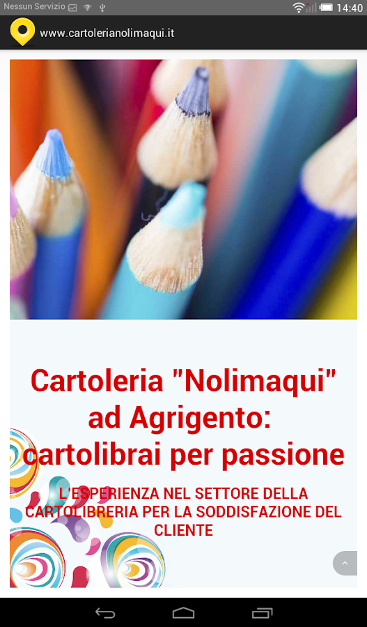 Cartoleria NoLiMaQui- screenshot
