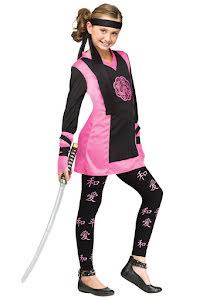 Ninjaklänning, barn 110/116