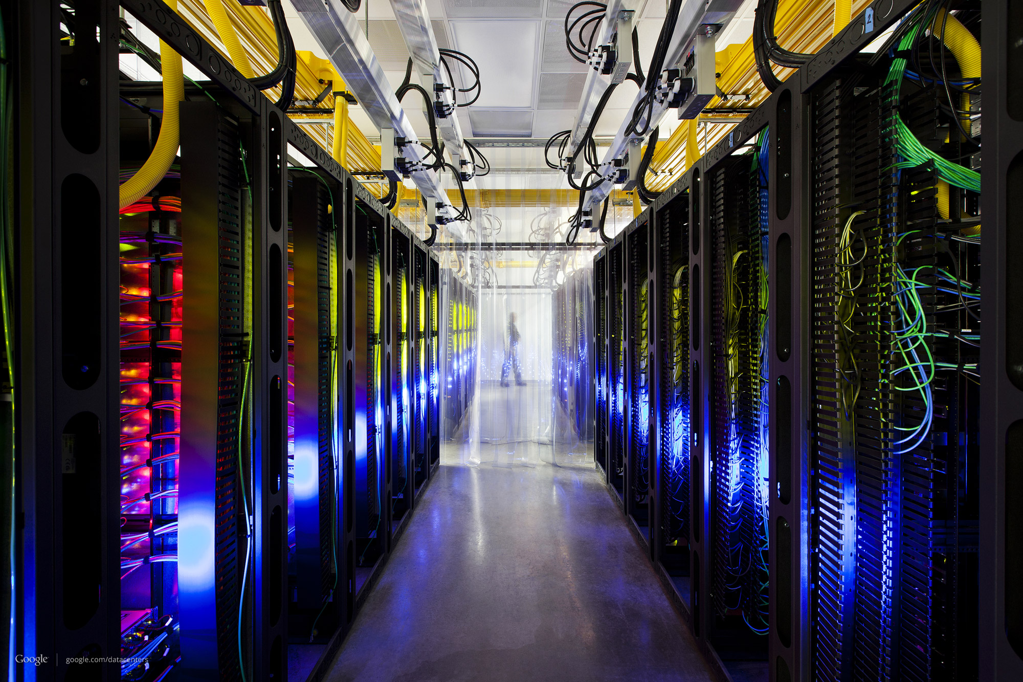 Photo: The final, layered photo of the campus network room in Iowa (http://goo.gl/6LJvl)