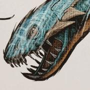 エラスモサウルス(プレシオサウルス)
