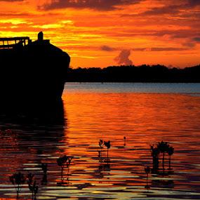 BLACK PEARL by Pras Manan - Landscapes Sunsets & Sunrises
