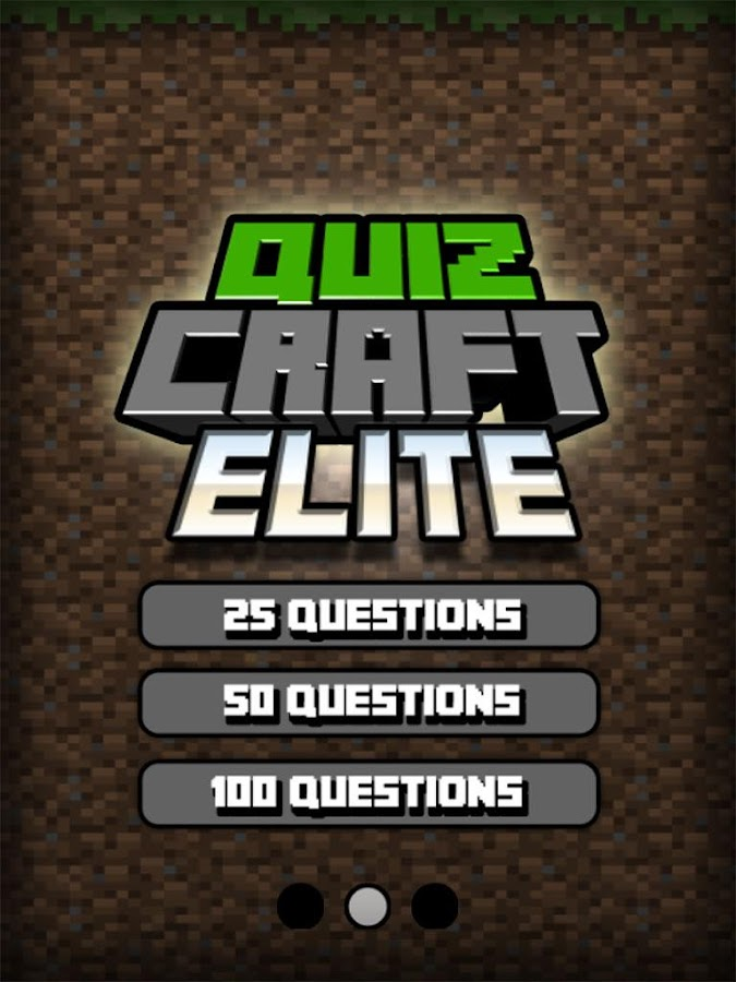 Quiz Craft Elite Edition- screenshot
