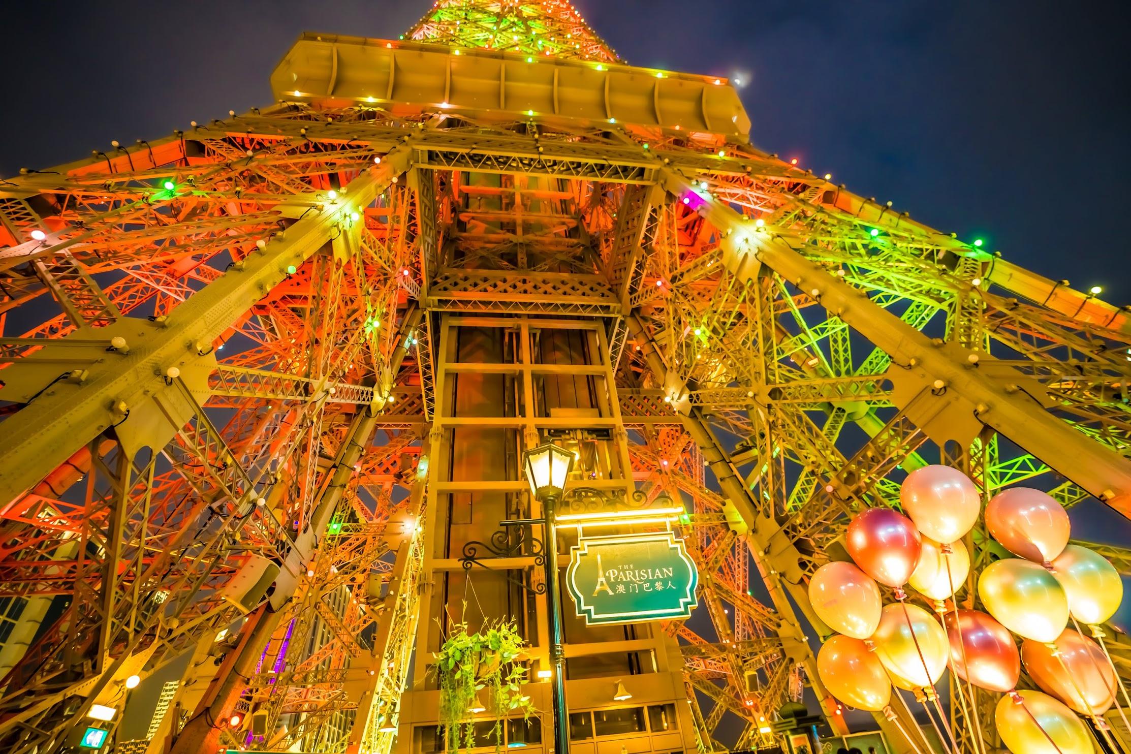 Parisian Macao Eiffel Tower light-up2