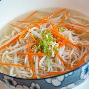 Noodles in Chicken Broth