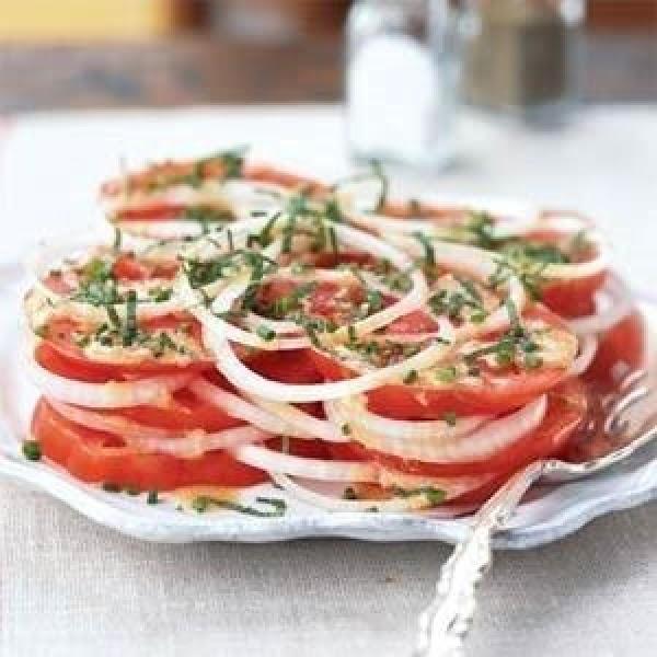 Creole Tomato Salad Recipe