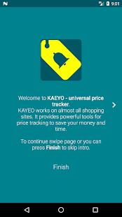 KAEYO - Universal price tracker. Spend less. - náhled