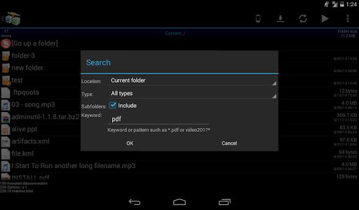 AndFTP screenshot 18