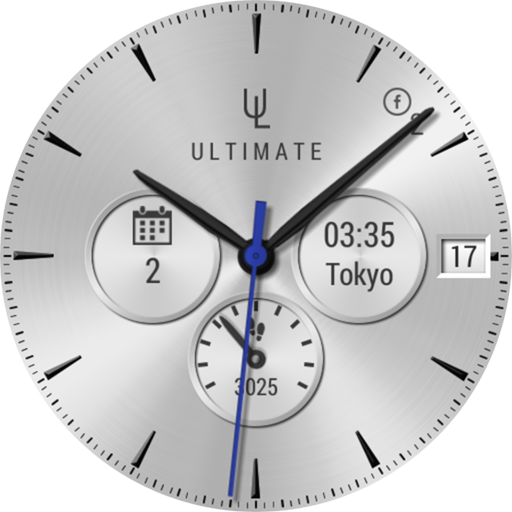 Ultimate Watch 2 watch face- screenshot