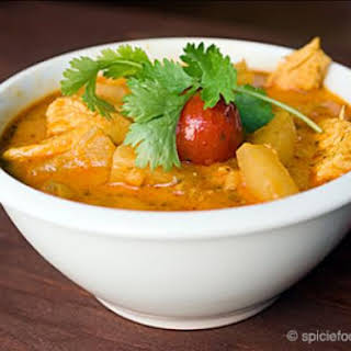 Luscious Thai Chicken Pineapple Curry.