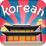 Korean Vocabulary Flash Quiz Icon