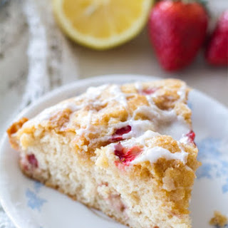 Strawberry Lemon Coffee Cake