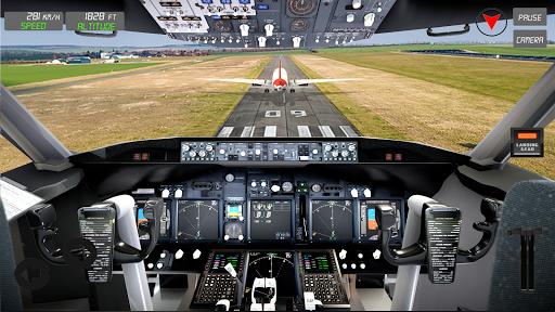 extreme airplane simulator 2019 pilot flight games screenshot 3
