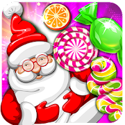 Christmas Smash: Santa Candy Match & Dress Up