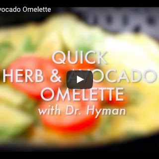 Quick Herb and Avocado Omelet