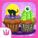 Spooktacular Halloween Cupcake icon
