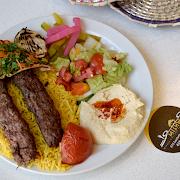 Kebab Plate (2 Skewers)