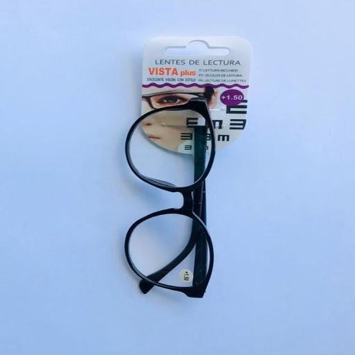 lentes de lectura negro +1.5 und