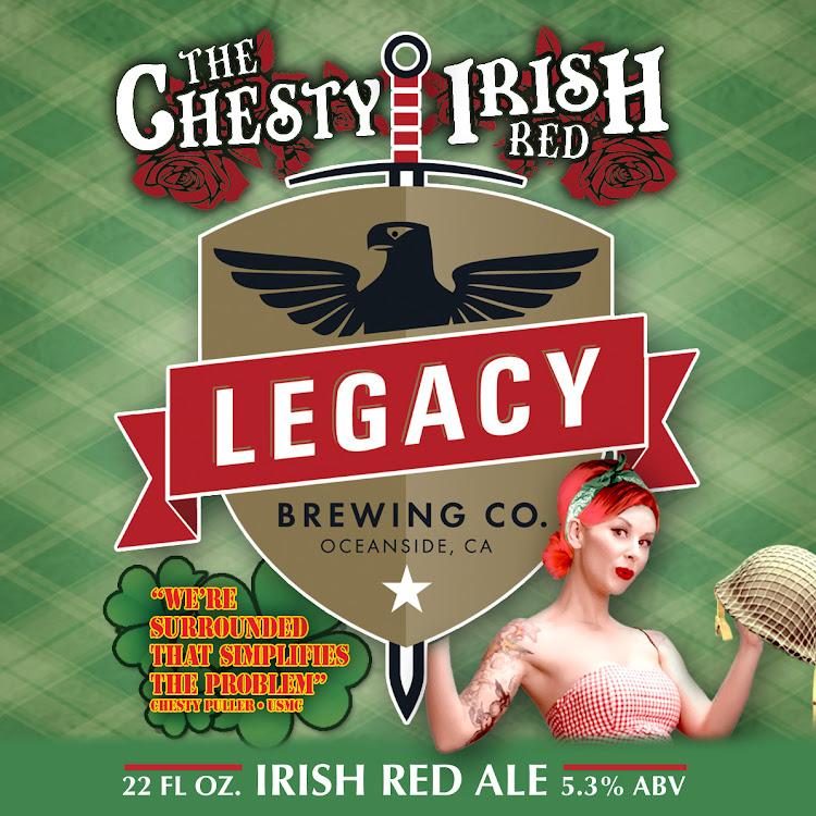 Logo of Chesty Irish Red