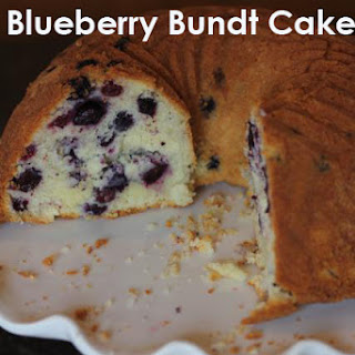 Gluten Free Blueberry Bundt Cake