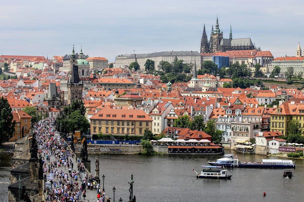 Praga, Most Karola i Hradczany