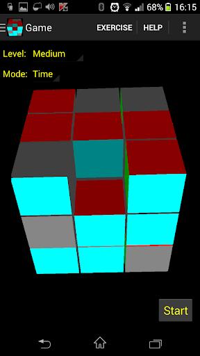 3D Sliding Cube Puzzle Demo