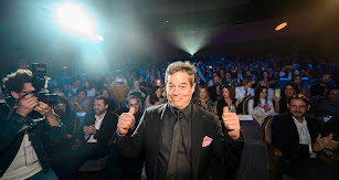 Jorge Sanz, homenajeado por el Auditorio Maestro Padilla durante la gala inaugural de Fical.