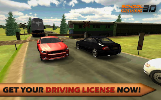 School Driving 3D  captures d'u00e9cran 1