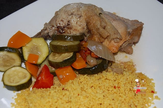 Spicy Honeyed Chicken and Vegetable Tagine